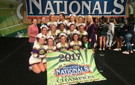 Champion cheerleaders