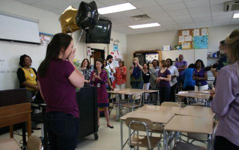 Williamson wins first-year teacher award