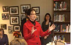 Rep. Ball visits Broughton