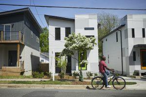 Homes in Raleigh's South Park neighborhood