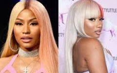 Nicki Minaj and Megan thee Stallion, today's top female rap artists.